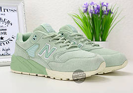 Кроссовки женские New Balance 580 Mint Green Trainers|  Нью Баланс 580 Минт