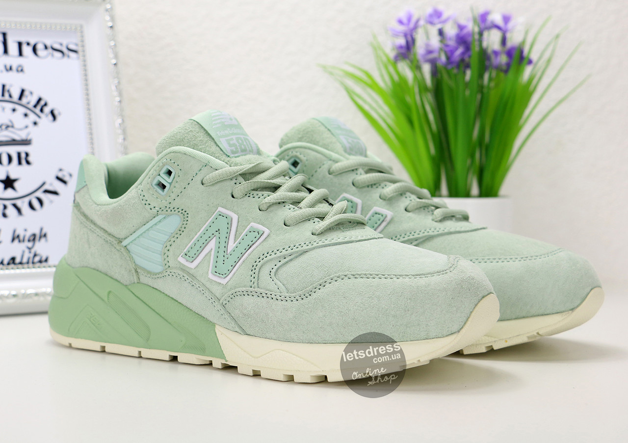 promo code 0eee1 a0730 mint green new balance 580