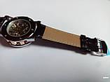 Наручные мужские часы Winner sceleton расцветка: белое с золотом, фото 6