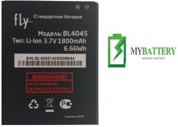 Оригинальный аккумулятор АКБ батарея Fly BL4045, IQ4410i