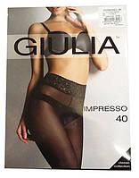 Колготки GIULIA Impreeo 40 den 2 DAINO (легкий загар)