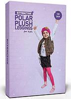 Теплые легинсы POLAR PLUSH LEGGINSY 180 den Розовый 116/128