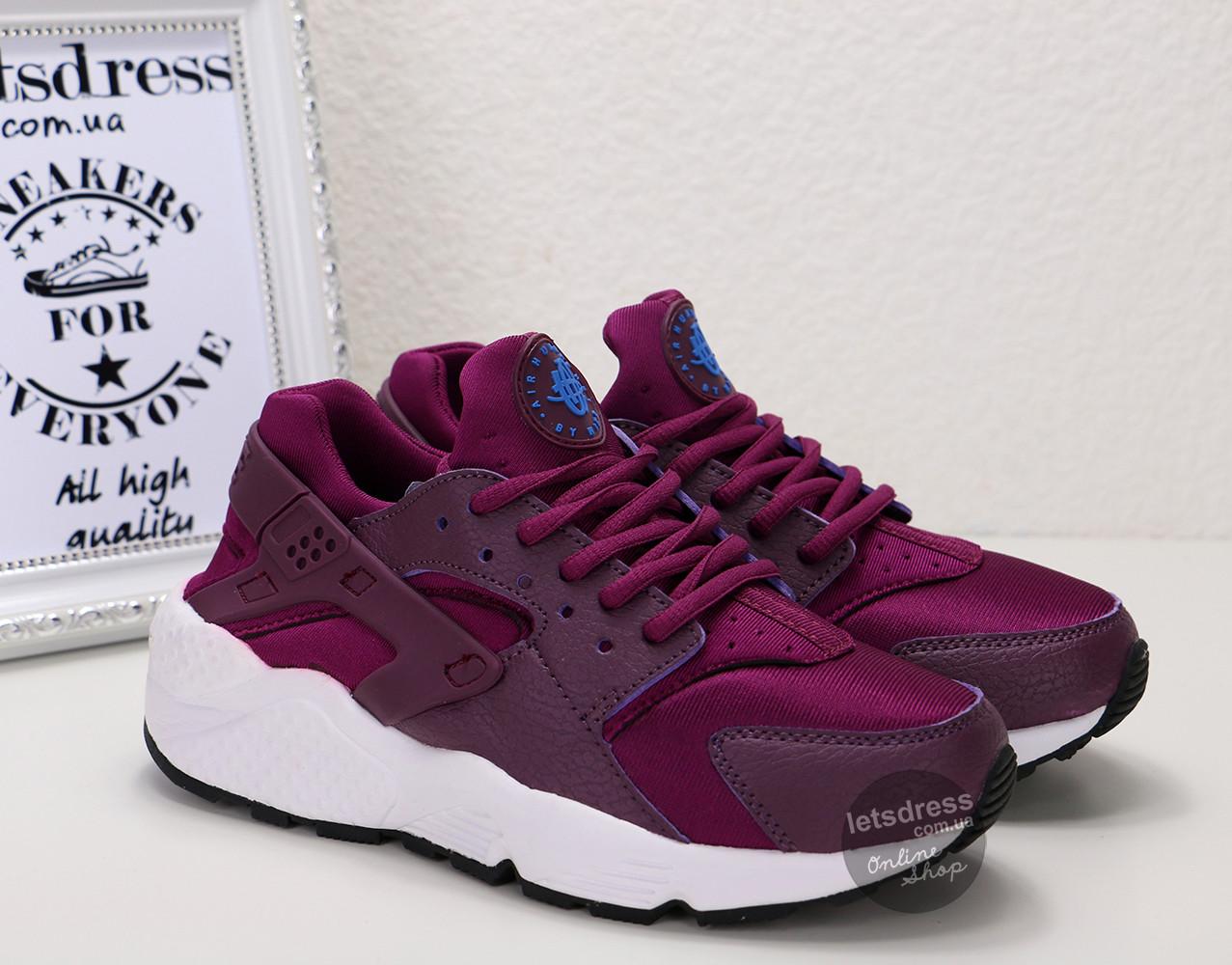Кросівки жіночі Nike Air Huarache purple | Найк Аїр Хуарач пурпурні