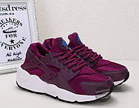 Кроссовки женские Nike Air Huarache purple | Найк Аир Хуарач пурпурные, фото 1