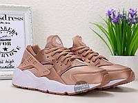 Кроссовки женские Nike Air Huarache Rose Gold | Найк Аир Хуарач розовые