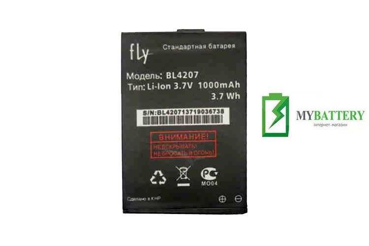 Оригинальный аккумулятор АКБ батарея Fly BL4207, Q110TV