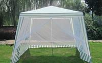 Садовый павильон-шатер Under Price (11027053) с москитной сеткой и молниями (3x3м)