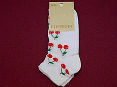 Носки Комфорт сетка патик женские цветные 3 36-39 ( 23-25 ) женские