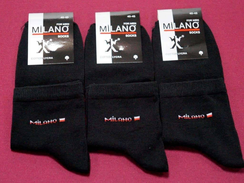 Носки Milano ликра средние 1, 41-45 ( 27-29 ) мужские
