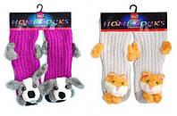 Теплые носки для девушек HOMESOCKS Пудра unica
