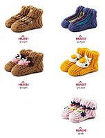 Теплые детские носки для младенцев HOMELINE Фиолетовый 6-12 месяцев