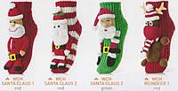 Теплые носки для женщин WOMAN HOMELINE CHRISTMAS разноцветный универсальный