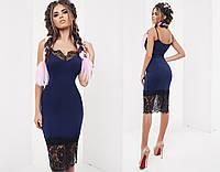 Платье (42,44,46) — трикотаж стрейч  купить оптом и в розницу в одессе  7км