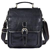 """Мужская сумка барсетка """"Сундук"""" из натуральной кожи, фото 1"""
