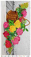 Схема для вышивки бисером Волшебные розы