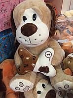 Игрушка мягкая Собака подарок для детей | Символ Нового года 2018 - Собака