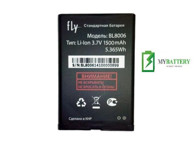Оригинальный аккумулятор АКБ батарея Fly BL8006, DS133