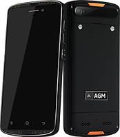 """Ударопрочный смартфон AGM X1 Mini Black черный IP68 (2SIM) 5"""" 2/16GB 2/8Мп 3G 4G оригинал Гарантия!"""