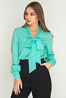 Блуза Бант-чекер № 16-97 р. S;М;L мята