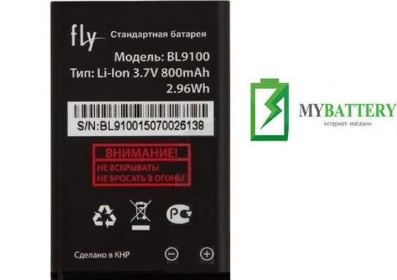 Оригинальный аккумулятор АКБ батарея Fly BL9100, FF177