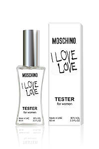 Тестер женский Moschino Cheap and Chic I Love Love (Москино Чип энд Чик Ай Лав Лав), 60 мл