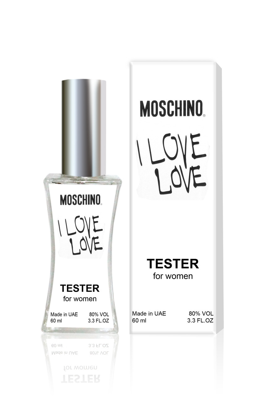 5fb5e595c2111b Тестер женский Moschino Cheap and Chic I Love Love (Москино Чип энд Чик Ай  Лав