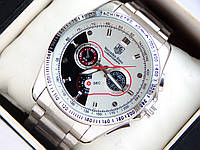 Мужские наручные часы TAG Heuer Mercedes Benz стального цвета