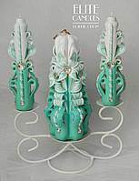 """Подсвечник для свадебной церемонии """"Семейного очага"""" на 3 свечи"""