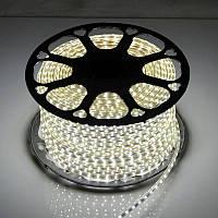 Светодиодная LED лента SMD 2835-60 W белая IP67 220В 220V