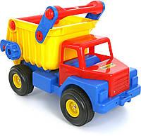 Игрушечный Автомобиль-самосвал №1 с резиновыми колёсами