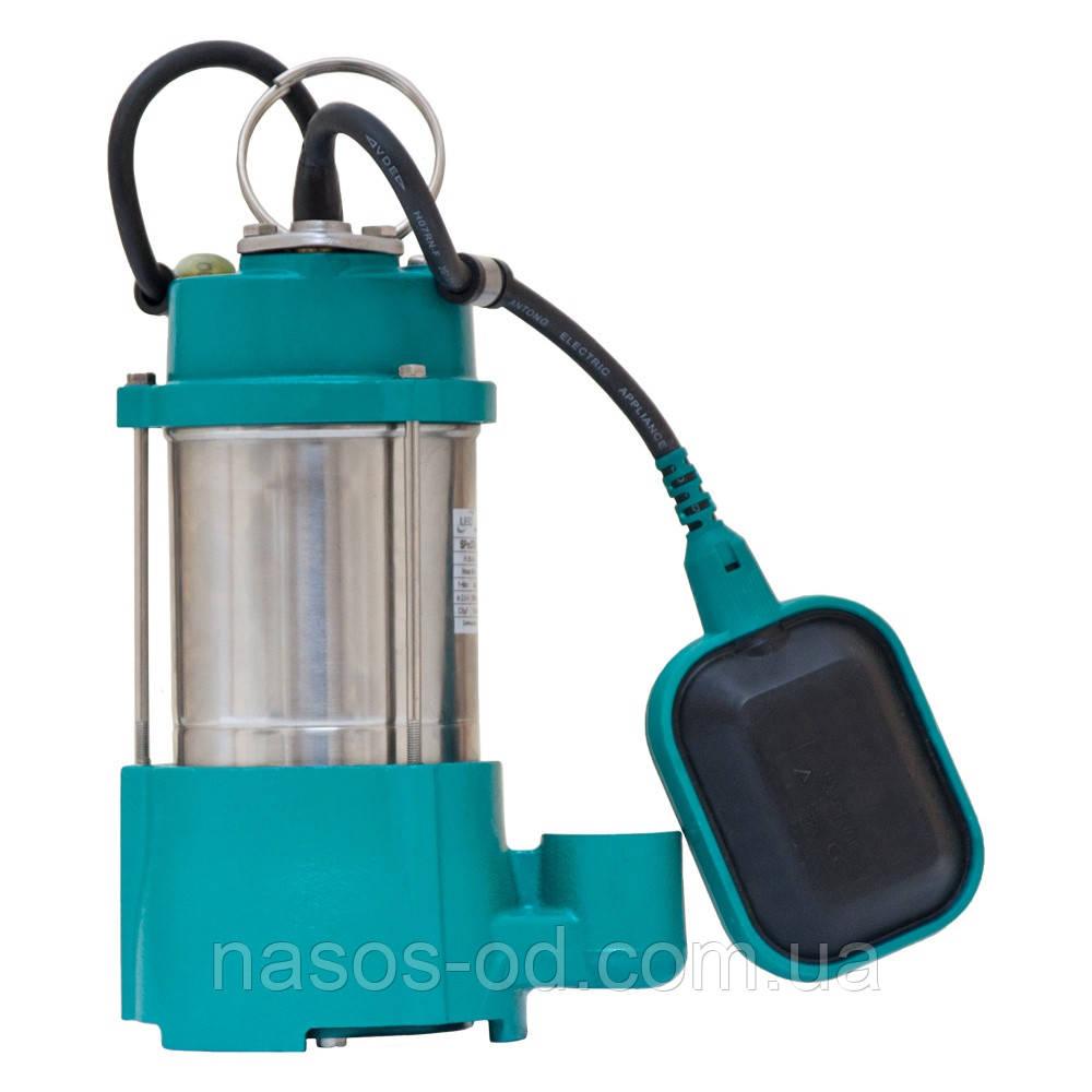 Дренажный насос Leo садовый для полива 0.37кВт Hmax40м Qmax35л/мин