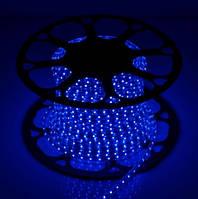 Светодиодная LED лента SMD 2835-60 B синяя IP67 220В 220V