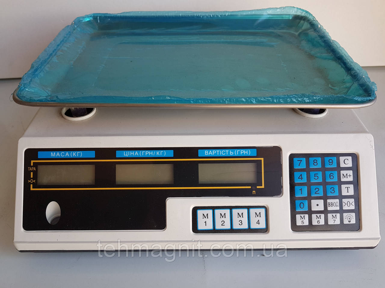Весы электронные, торговые с калькулятором, с пределом взвешивания до 40 кг