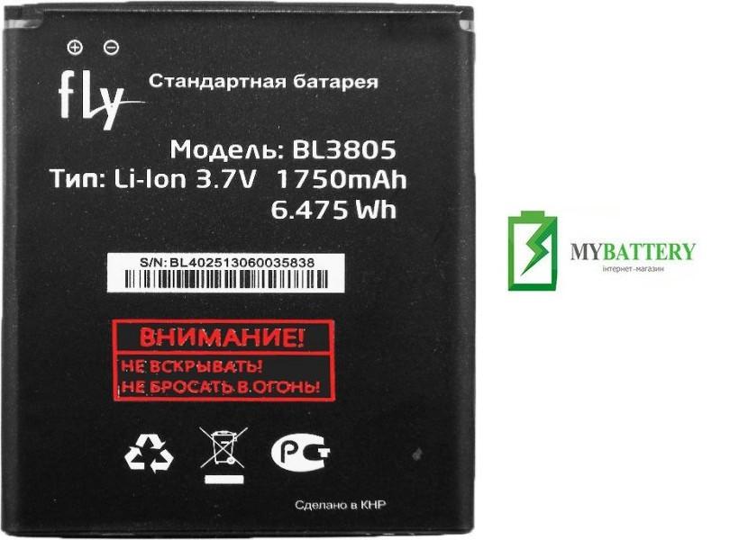 Оригинальный аккумулятор АКБ батарея Fly BL3805, iq4402, iq4404