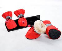 Обувь Защитная с Мехом, Dobaz, красный 2