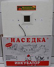 Инкубатор для яиц Наседка ИБМ-70 яиц с механическим переворотом и аналоговым терморегулятором