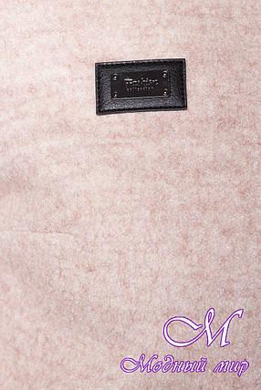 Женское осеннее пальто большого размера (р. XL, XXL, XXXL) арт. Милтон Донна 3376 - 17314, фото 2