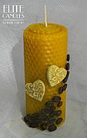 Натуральная свеча из вощины