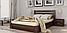 Кровать деревянная Селена полуторная, фото 4
