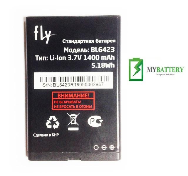 Оригинальный аккумулятор АКБ батарея Fly BL6423, FF281
