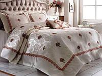 Покрывало в спальню на кровать Zebra Rose Garden Розовый 260*270