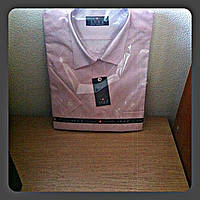 Рубашка (тенниска) LUGA мужская с коротким рукавом размер 41