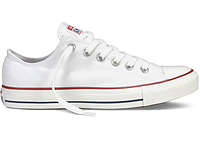 Кеды Конверсы Chuck Taylor All Star Low White/Белые, фото 1