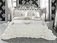 Красивое покрывало на кровать Zebra Queen Черный 260*270