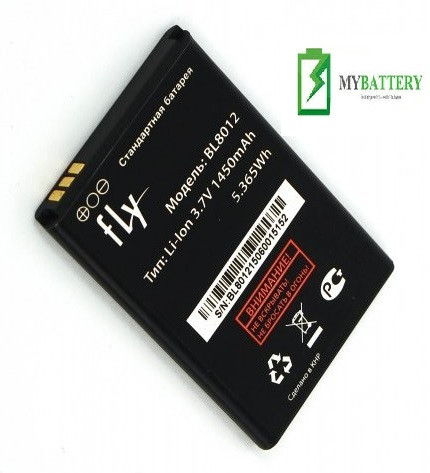 Оригинальный аккумулятор АКБ батарея Fly BL8012, FF301