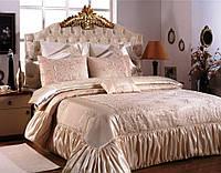 Красивое покрывало на кровать Zebra Pearl Капучино 260*270