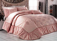 Красивое покрывало для кровати Zebra Tual Кремовый 260*270