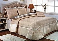 Покрывало в спальню на кровать Zebra Damask Розовый 260*270