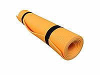 """Коврик для фитнеса и спорта """"К5"""" Naprolom, оранжевый"""