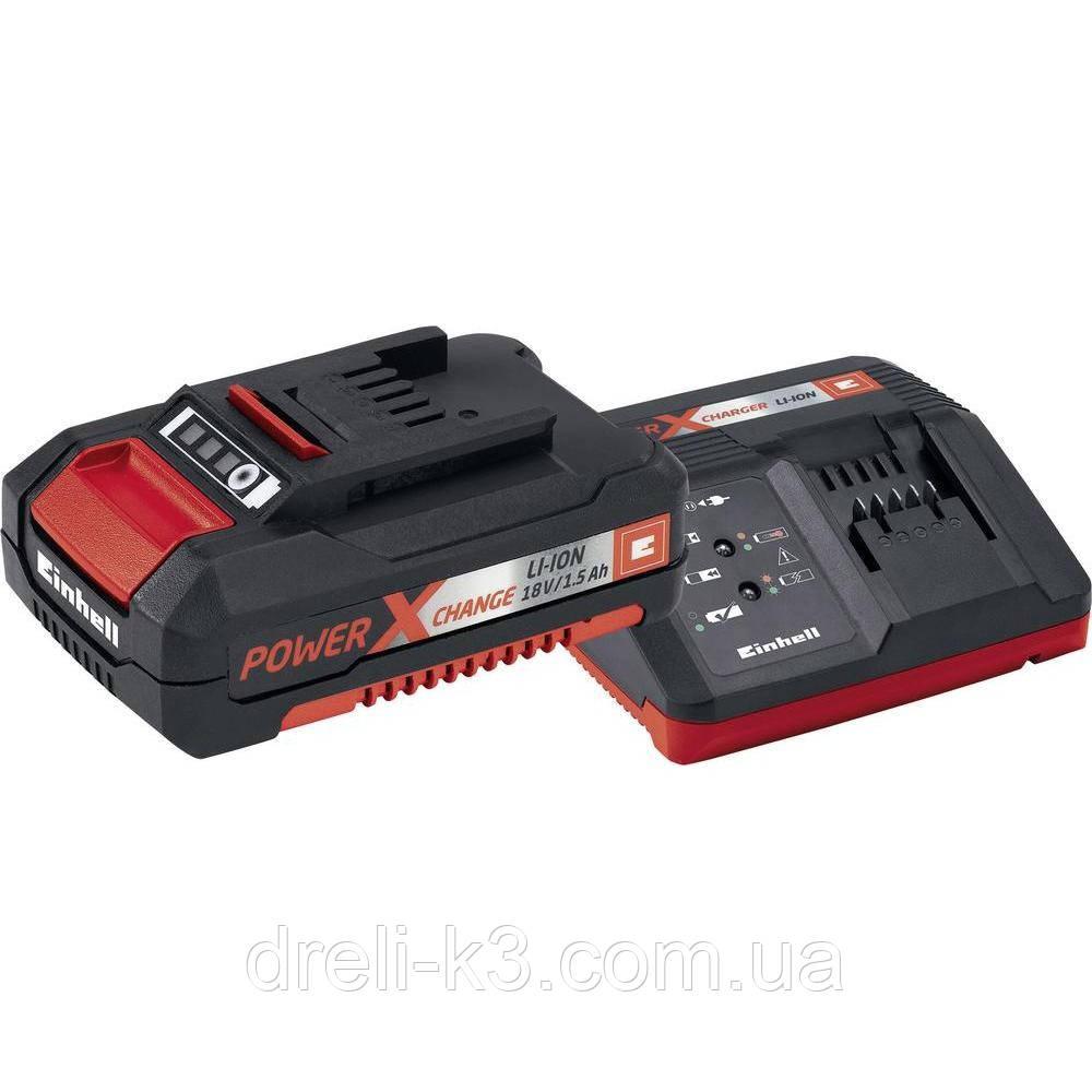 Аккумулятор 2 Ач + зарядное устройство 18 V Einhell Power-X-Change [4512020]